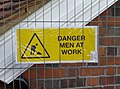 Danger men at work - geograph.org.uk - 611119.jpg