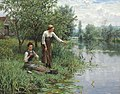 Daniel Ridgway Knight - Two Women Fishing.jpg