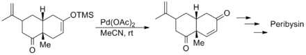 Danishefsky synthesis of peribysin