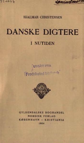File:Danske digtere i nutiden.djvu