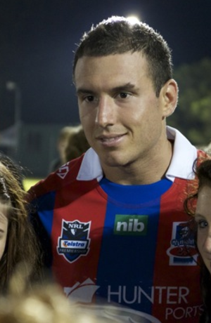 Darius Boyd - Boyd while playing for the Knights in 2012