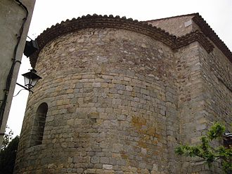 Darnius - Darnius church