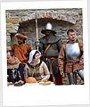 Das Gefolge des Herrn Kmiths auf der Burg zu Sanok.JPG