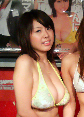 Rin Aoki - Rin Aoki, a launch event for Dasdas AV movies in 2007.
