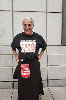 David Barsamian photographed in San Francisco, California on May 22, 2014