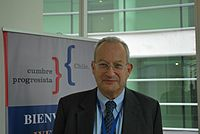 David Sainsbury, Policy Network, March 27 2009.jpg