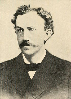 David Starr Jordan - Photograph of David Starr Jordan in 1880.