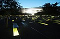 Dawn at the Pentagon Memorial Sept. 11, 2015. (21225670180).jpg
