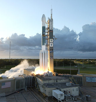 Expendable launch system - Image: Dawn launch