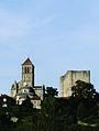 De kapittelkerk Saint-Pierre te Chauvigny, Frankrijk 2013.jpg