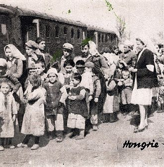 Refugees of the Greek Civil War - Refugee children