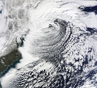 December 2009 North American blizzard - Image: December 2009 nor'easter