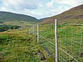 Deer fence above Strathaird - geograph.org.uk - 1451782.jpg