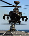 Defence Imagery - Helicopters landing aboard HMS Illustrious 07.jpg