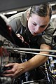 Defense.gov News Photo 100907-F-5858L-059 - U.S. Air Force Airman 1st Class Tessa Lyde an aerospace ground equipment technician assigned to the 28th Maintenance Squadron inspects the.jpg
