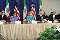 Defense.gov News Photo 110429-D-XH843-008 - Secretary of State Hillary Clinton 3rd from left hosted the U.S. Mexico High Level Consultative Group meeting at the State Department in Washington.jpg