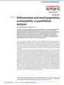 Deforestation and world population sustainability - a quantitative analysis.pdf