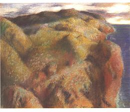 Degas - Landschaft mit Steilküste.jpg
