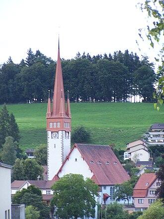 Degersheim - Swiss Reformed Church in Degersheim