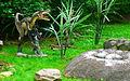 Deinonychus, DinoPark Bratislava.JPG