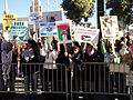 Demonstrations in san francisco about hamas Israel conflict 1-10-9-2.jpg