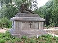 Denkmal, Den Toten der Krieges, nahe der Marienkirche (Bad Segeberg).JPG