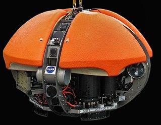 DEPTHX Autonomous underwater vehicle for exploring sinkholes in Mexico