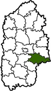 Derazhnia Raion Former subdivision of Khmelnytskyi Oblast, Ukraine
