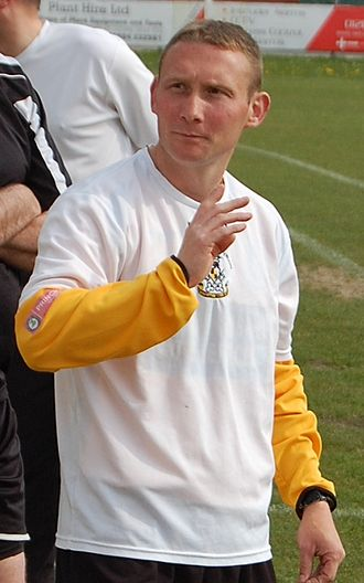 Carmarthen Town A.F.C. - Deryn Brace, Player-Manager of Carmarthen Town between 2007 and 2010