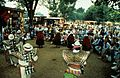 """Description- Taquile musicians from Peru perform in the """"Land in Native American Cultures"""" program at the 1991 Festival of American Folklife held on the National Mall, Washington, D.C. (2535860263).jpg"""