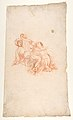 Design for a Festival Display of Fireworks (recto); Small Figures by a different hand (verso) MET DP811932.jpg