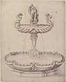 Design for a Fountain with Two Basins One on Top of the Other and Statues of Venus and Putti on the Top. MET 68.587.jpg