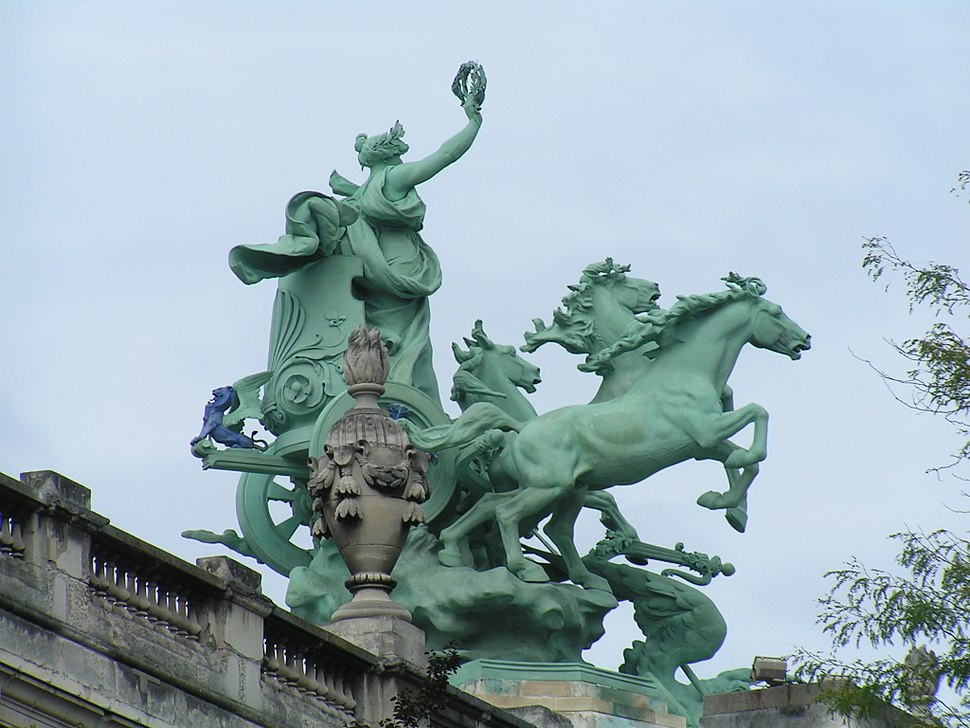 Detail of the Grand Palais