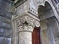 Detail on door pillar, Calfaria Chapel, Login - geograph.org.uk - 1245088.jpg
