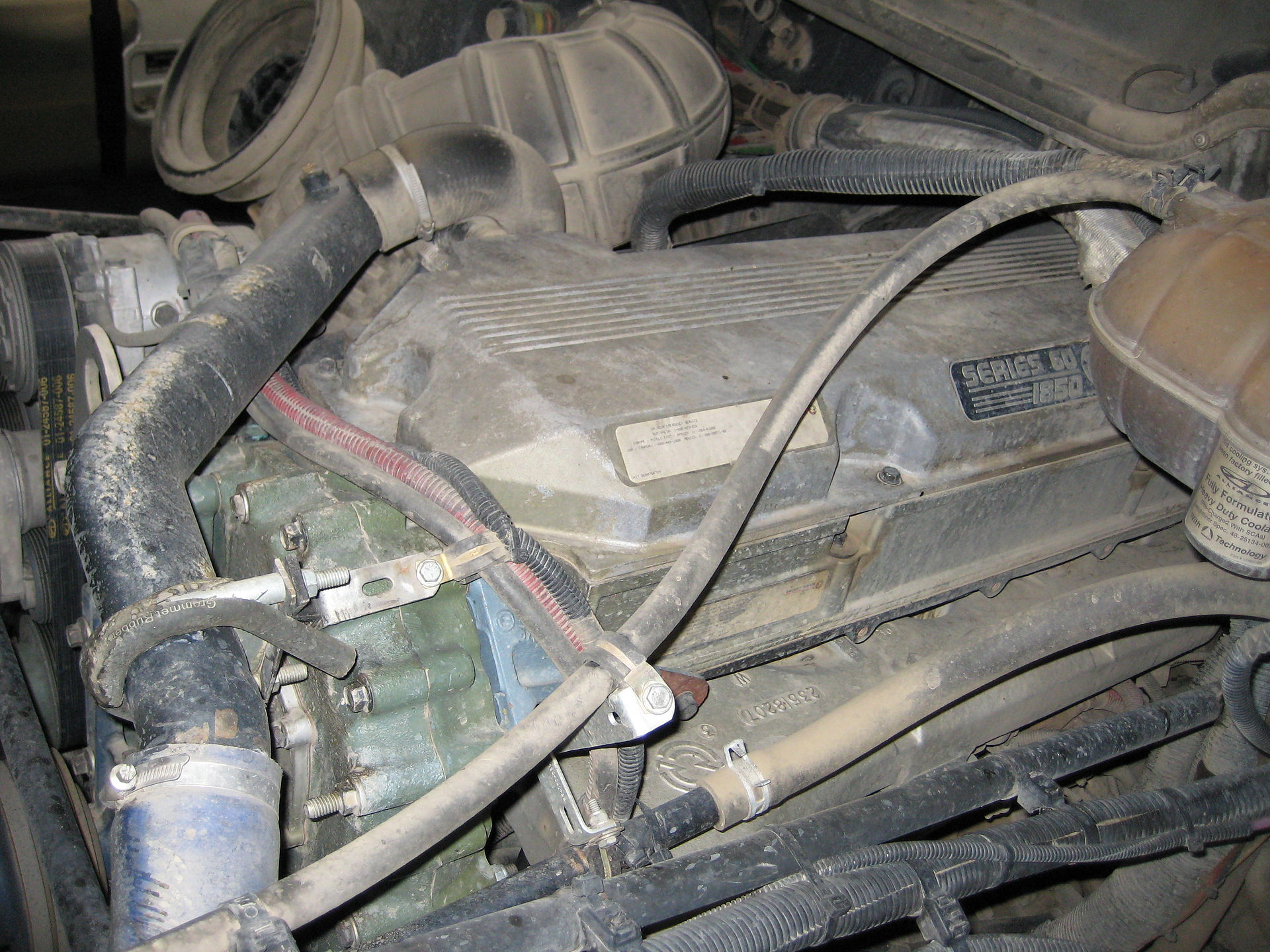 Engine Sensor Locations On A Detroit Dd13 Get Free Image 2008 Freightliner Ecm Wiring Diagram Coolant Diesel 60 Wikipedia