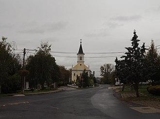 Diósd - Image: Diósd Szent István tér