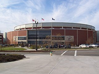E. A. Diddle Arena building in Kentucky, United States