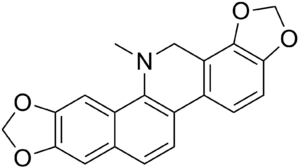Dihydrosanguinarine - Image: Dihydrosanguinarine