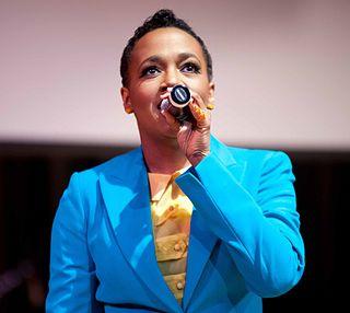 Dionne Farris American R&B singer