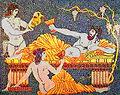 Dionysos buvant sous une treille Asie hellénistique.jpg