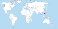 Distribution Apomys gracilirostris world.png