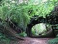 Disused railway bridge - geograph.org.uk - 961099.jpg