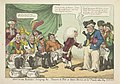 Dokter Napoleon zet de Europese vorsten op de pot, 1808 Doctor Boney - bringing the powers to pot, or Iohn Bull and his friends rather shy (titel op object), RP-P-1982-271.jpg