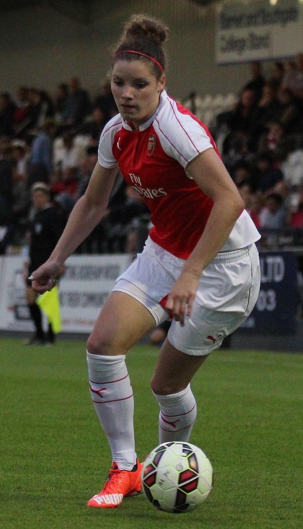 Dominique Janssen Arsenal Ladies Vs Watford (19969645285) (cropped)