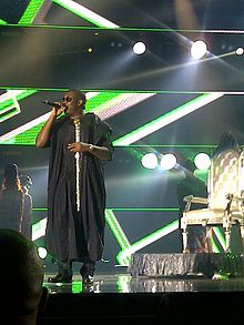 Don Jazzy performing at the 2014 MAMAs