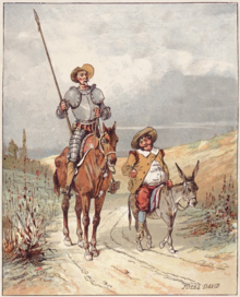 Don Quixote and Sancho Panza by Jules David.png