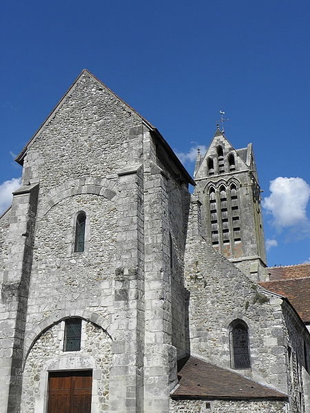 Église Saint-Hippolyte de Dormans (51).
