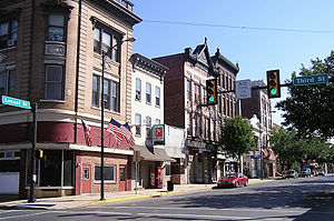 Columbia, Pennsylvania - Downtown Columbia.