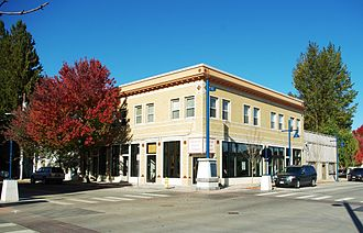 Sherwood, Oregon - Building in downtown