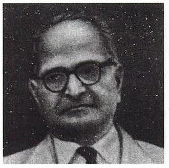 M. S. Krishnan (geologist) - Portrait of M. S. Krishnan